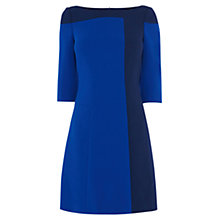 Buy Karen Millen Colourblock Dress, Blue Multi Online at johnlewis.com