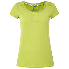 Buy White Stuff Short Sleeve Dawn T-Shirt, Iguana Green Online at johnlewis.com