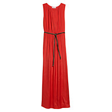 Buy Mango Belted Long Dress Online at johnlewis.com