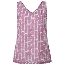 Buy White Stuff Pineapple Vest, Persian Purple Online at johnlewis.com