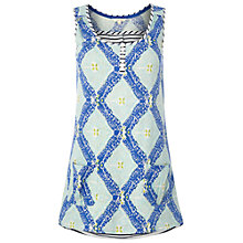 Buy White Stuff Pebble Coast Vest, Cobalt Online at johnlewis.com