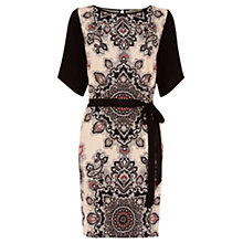 Buy Oasis Paisley Tribe Kimono Dress, Multi Online at johnlewis.com
