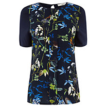 Buy Oasis Trailing Bird Kimono Top, Multi Online at johnlewis.com