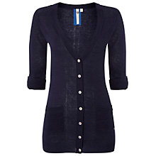 Buy White Stuff New Tree Top Cardigan, Navy Online at johnlewis.com