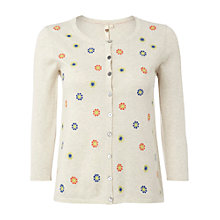 Buy White Stuff Blossom Cardigan, Natural Online at johnlewis.com