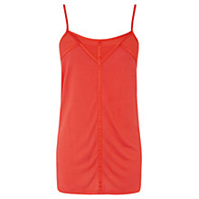 Buy Oasis Woven Panel Cami Top, Shanghai Online at johnlewis.com