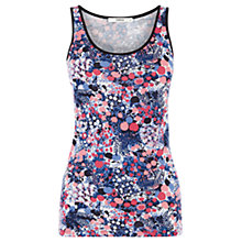 Buy Oasis Cherry Blossom Vest, Multi Online at johnlewis.com