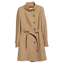 Buy Mango Button Coat Online at johnlewis.com
