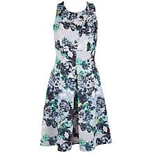 Buy Closet Muse Floral Scuba Dress, Green Multi Online at johnlewis.com