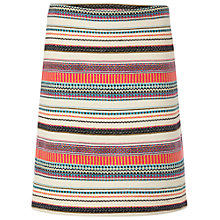 Buy White Stuff Stripe Island Embellished Skirt, Multi Online at johnlewis.com
