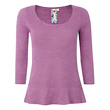 Buy White Stuff Plain Blossom Knit Jumper, Parma Violet Online at johnlewis.com