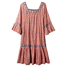 Buy East Arya Tunic Dress, Flamingo Online at johnlewis.com