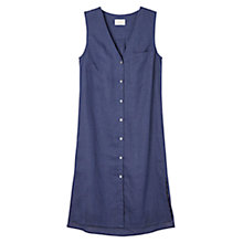 Buy East Mika Sleeveless Dress, Navy Online at johnlewis.com