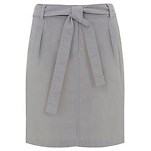 Buy Mint Velvet Tie Belt Skirt, Grey Online at johnlewis.com
