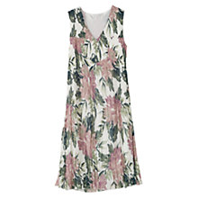 Buy East Abigail Sleeveless Dress, Multi Online at johnlewis.com