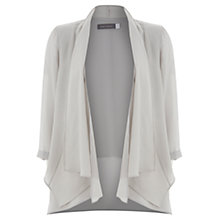 Buy Mint Velvet Waterfall Jacket, Grey Online at johnlewis.com