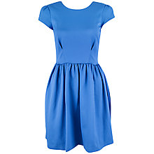 Buy Almari Spot V Back Dress, Mazarine Blue Online at johnlewis.com