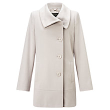 Buy Gerry Weber Side Button Coat, Beige Online at johnlewis.com