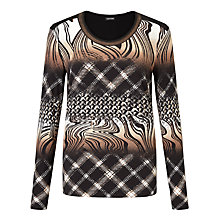 Buy Gerry Weber Abstract Print Top, Multi Online at johnlewis.com