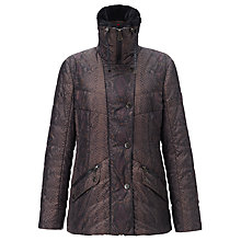 Buy Gerry Weber Faux Fur Snake Print Coat, Green Online at johnlewis.com
