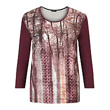 Buy Gerry Weber Top, Bordeaux Online at johnlewis.com
