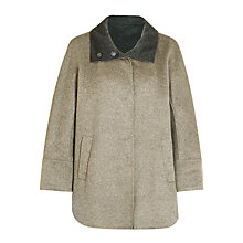 Buy Gerry Weber Cape Coat, Taupe Online at johnlewis.com