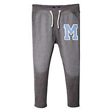 Buy Mango Kids Boys' College Joggers, Grey Online at johnlewis.com