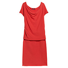 Buy Violeta by Mango Drape Neckline Dress Online at johnlewis.com