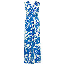 Buy Planet Floral Maxi Dress, Blue/Multi Online at johnlewis.com