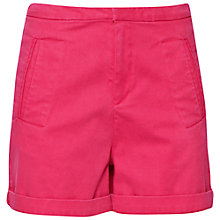 Buy French Connection Tailored Resort Shorts, Passion Pink Online at johnlewis.com