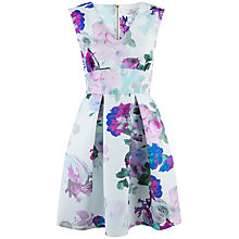 Buy Closet Blossom Skater Dress, Multi Online at johnlewis.com
