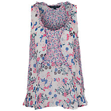 Buy French Connection Water Garden Top, Multi Online at johnlewis.com