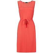 Buy Jaeger Circle Trim Dress Online at johnlewis.com
