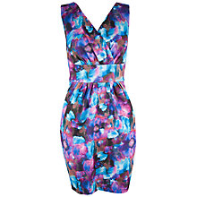 Buy Almari Aquarelle Cross Over Dress, Multi Online at johnlewis.com