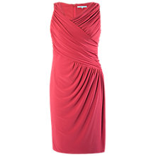 Buy Chesca Ruched Dress, Poppy Online at johnlewis.com