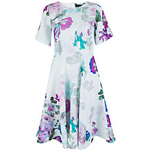 Buy Closet Blossom Cut Out Back Dress, Multi Online at johnlewis.com