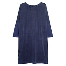 Buy Violeta by Mango Contrast Panel Dress, Navy Online at johnlewis.com