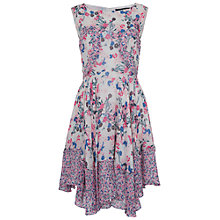 Buy French Connection Water Garden Dress, Multi Online at johnlewis.com