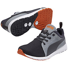 Buy Puma Asics Carson Runner Sports Shoes, Grey/Orange Online at johnlewis.com