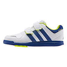 Buy Adidas LK 6 Trainers, White/Blue Online at johnlewis.com