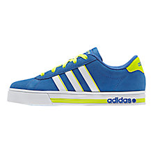 Buy Adidas Daily Team Sports Shoes, Blue/White Online at johnlewis.com