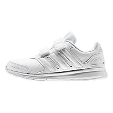 Buy Adidas LK Sport CF Trainers, White Online at johnlewis.com
