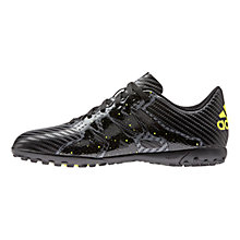 Buy Adidas Chaos 15.4 TF Sports Shoes, Black/Yellow Online at johnlewis.com