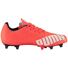 Buy Puma Asics evoSPEED 5.4 FG Football Boots, Orange Online at johnlewis.com