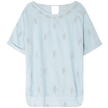 Buy East Embellished Booti Top Online at johnlewis.com