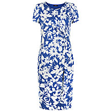 Buy Precis Petite Cannes Print Dress, Dark Blue Online at johnlewis.com