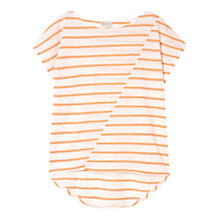 Buy East Short Sleeve Stripe Top Online at johnlewis.com