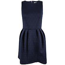 Buy Closet Waffle Tulip Dress, Navy Online at johnlewis.com