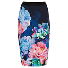 Buy Coast Bonnie Printed Skirt, Blue/Multi Online at johnlewis.com