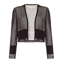 Buy Damsel in a dress Eyelet Jacket, Black Online at johnlewis.com
